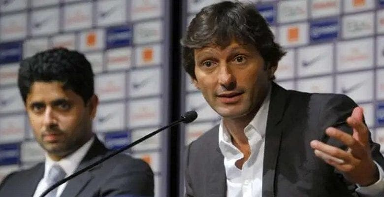 Leonardo « Nasser Al-Khelaifi m'a écrit aujourd'hui, il le veut au PSG mais mon joueur a refusé »