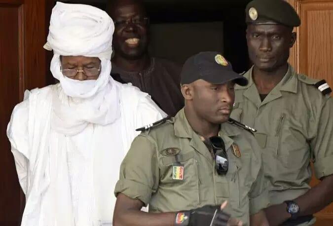 L'ex-président tchadien Hissène Habré regagne sa prison