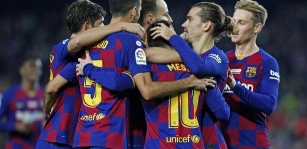 Lionel Messi sur sa lancée, Le Barça s'offre Leganes et conforte sa première place