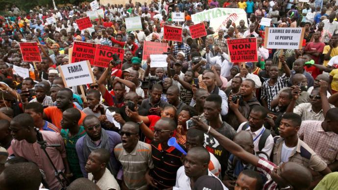 Mali : des manifestants réclament le départ d'IBK