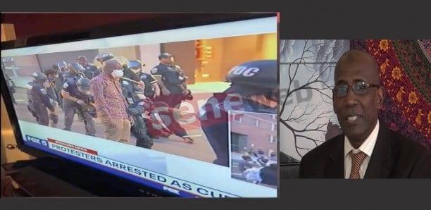 Manif devant la Maison Blanche : Bocar Moussa Ba (NVA) arrêté puis relâché et interdit de…