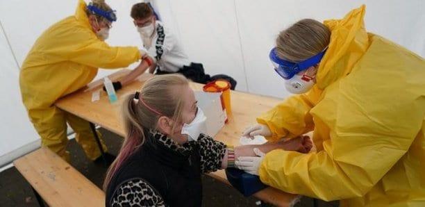 Plus de 300 nouveaux cas de Covid-19 en Allemagne