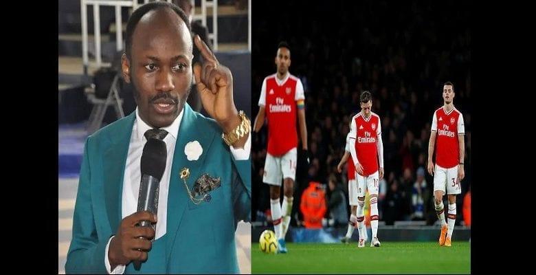 Premier League: l'apôtre Johnson Suleman explique pourquoi Arsenal a perdu face à Brighton