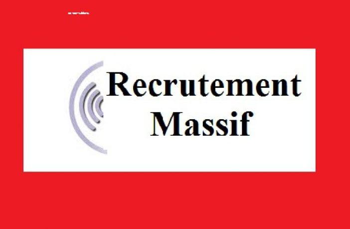 Recrutement de 83 postes vacants , profils divers dans une entreprise industrielle