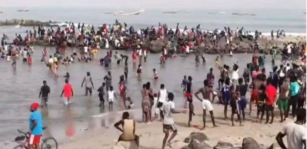 Sénégal : Les plages prises d'assaut