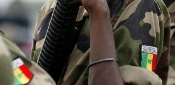 Sénégal: Un soldat de l'armée sénégalaise saute sur une mine