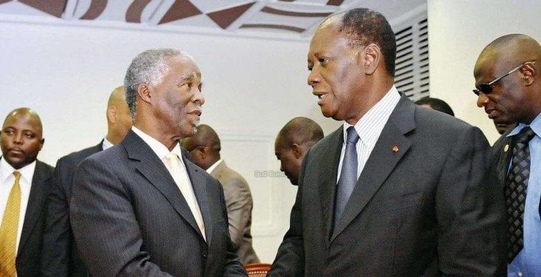 Thabo Mbeki parle de Gbagbo, et lance un appel aux dirigeants ivoiriens