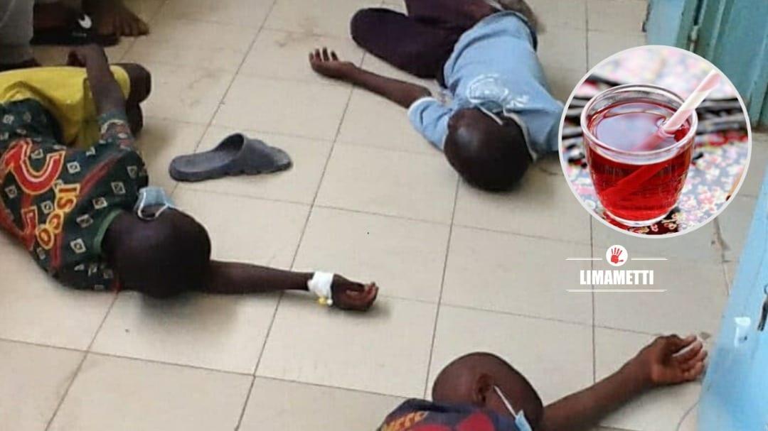 UN ANNIVERSAIRE SE TERMINE À L'HOPITAL: 13 ENFANTS ÉVACUÉS À CAUSE D'UN JUS DE BISSAP