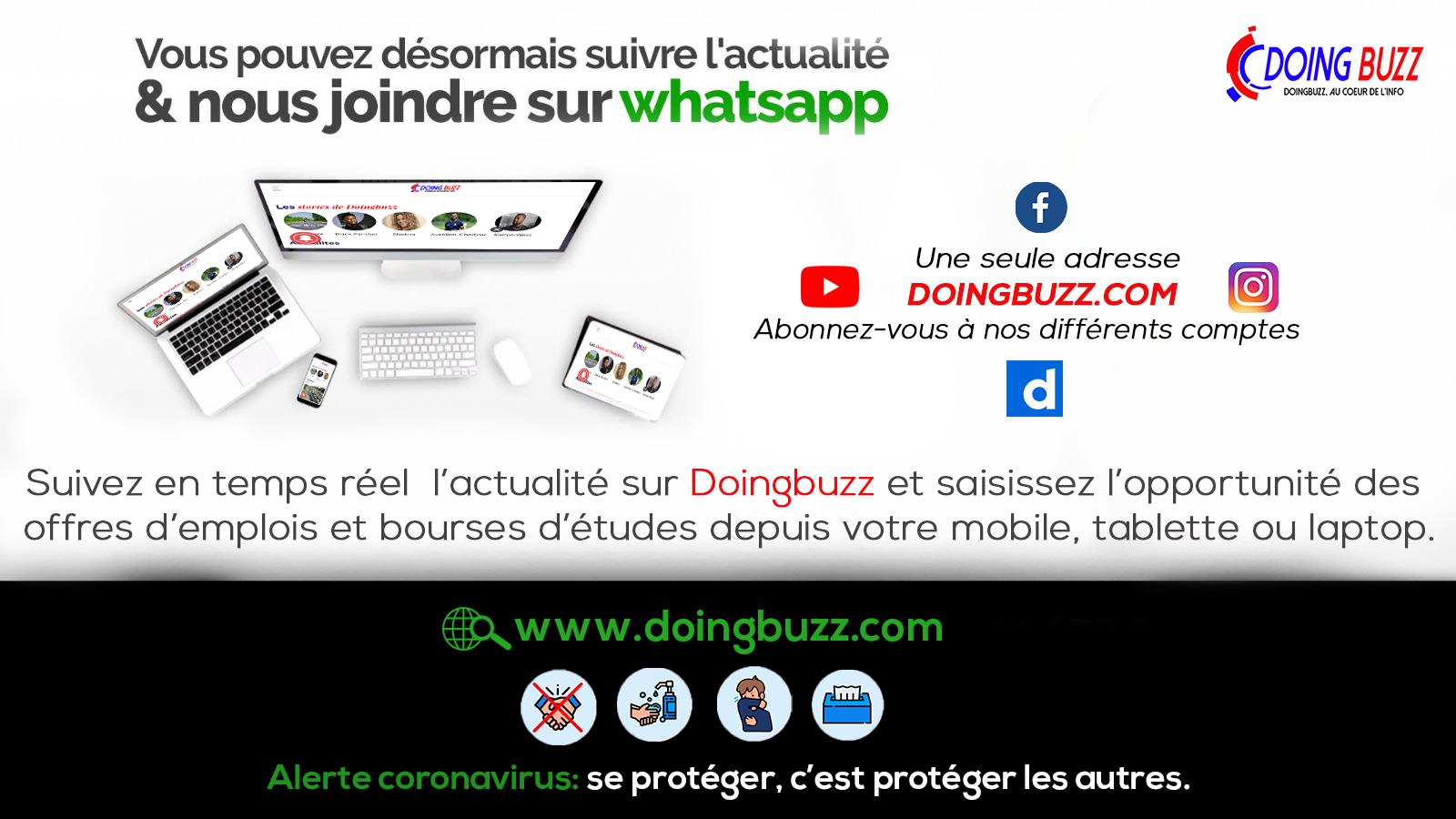 Présentation du site d'actualités à suivre !!  – Doingbuzz (Video)