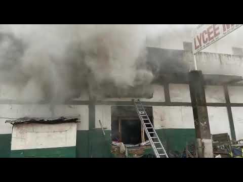 Côte d'Ivoire:Le siège du PDCI d'Henri Konan Bédié, incendié