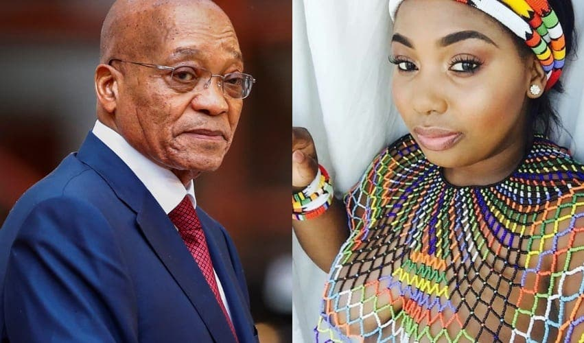 Afrique du Sud : Jacob Zuma a expulsé sa jeune femme de sa maison