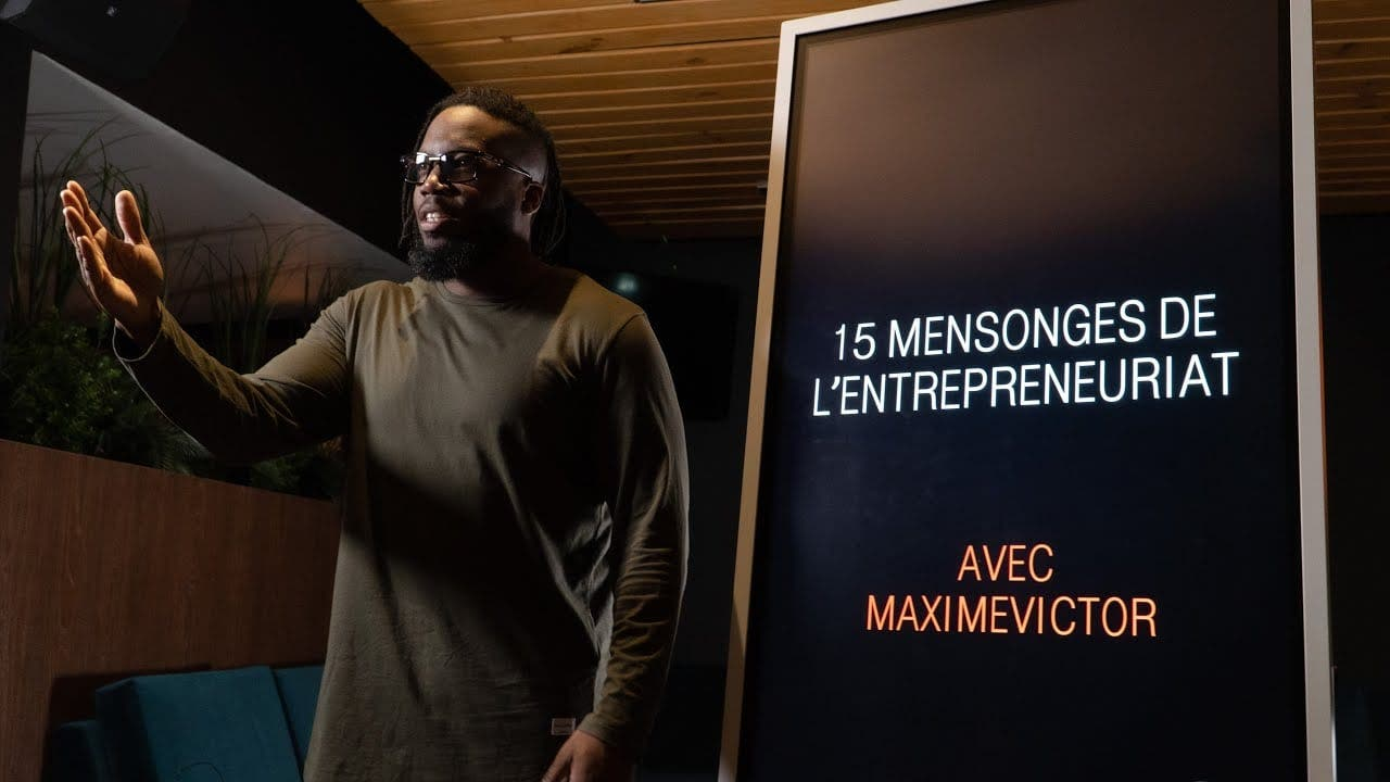 15 mensonges sur l'entrepreneuriat (video)