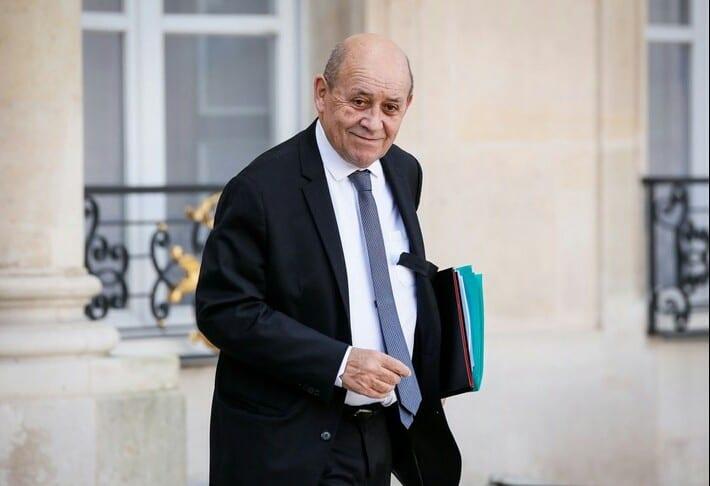 Élections 2020 : Le ministre Français  Jean-Yves Le Drian annoncé à Abidjan