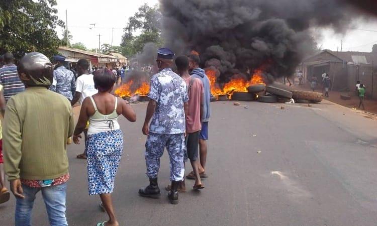 Togo: La ville de Tsévié en ébullition après des tirs à balle réelle