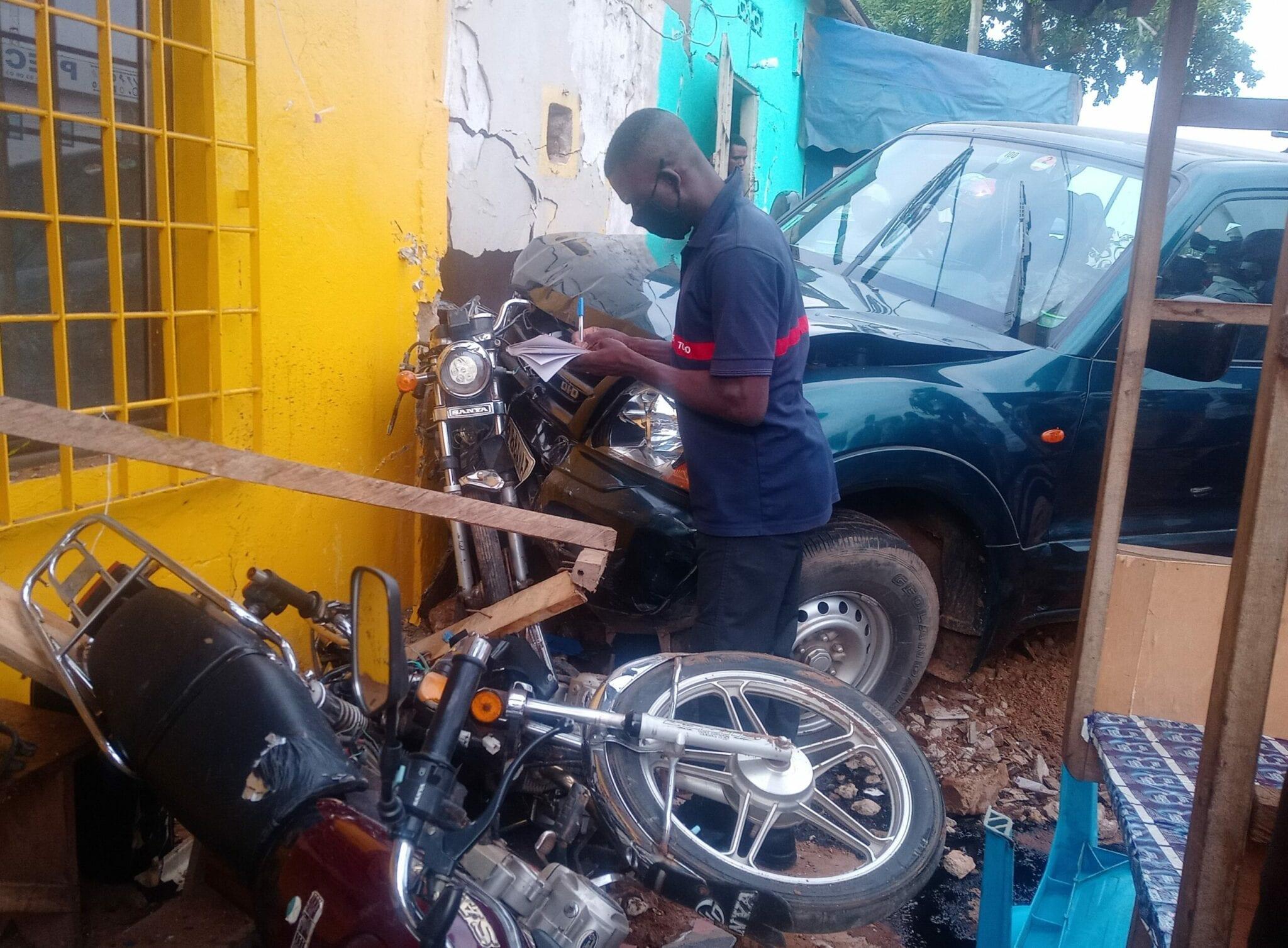 Lomé : un accident de circulation fait plusieurs blessés