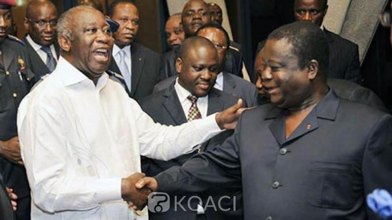 Présidentielle 2020 : Gbagbo et Bédié se sont concertés