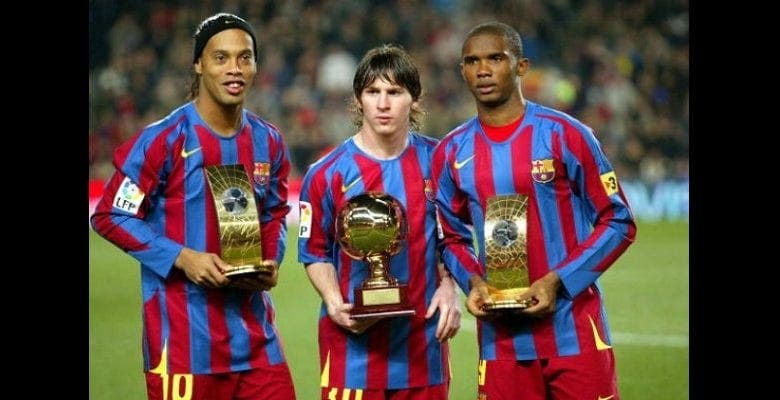 Barça : découvrez le top 10 des meilleurs attaquants depuis l'année 2000…Neymar 4e, Eto'o 3e