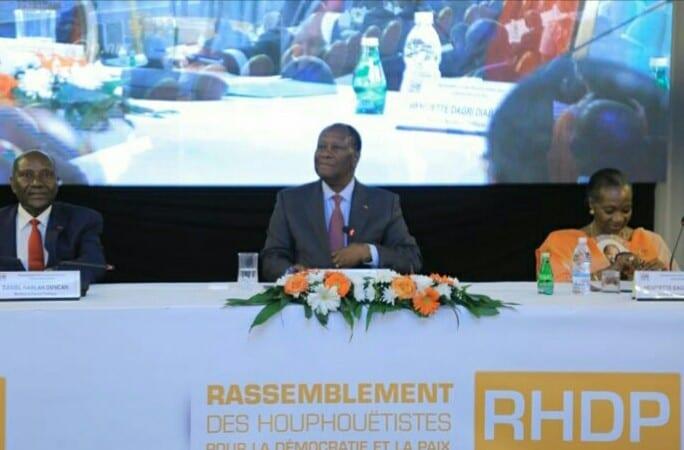 Côte d'Ivoire/Élection : Le RHDP se réunit pour désigner son nouveau candidat
