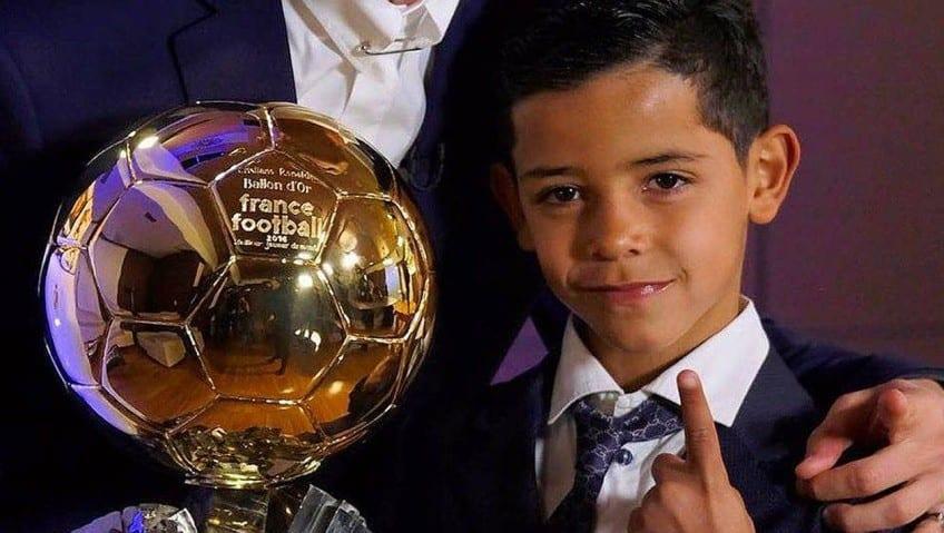Le fils de Cristiano Ronaldo au cœur d'une enquête