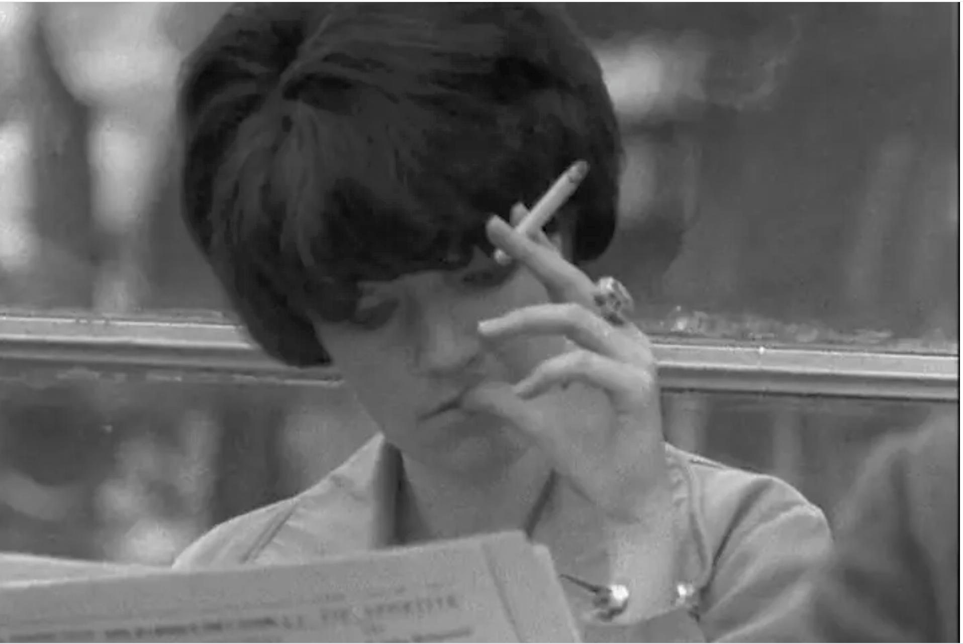 «Une étudiante d'aujourd'hui», filmée par Eric Rohmer en 1966