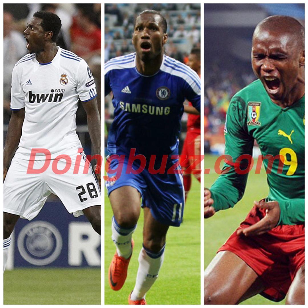 Comment expliquer les relations froides entre Emmanuel Adebayor et Samuel Eto'o ou Didier Drogba ?