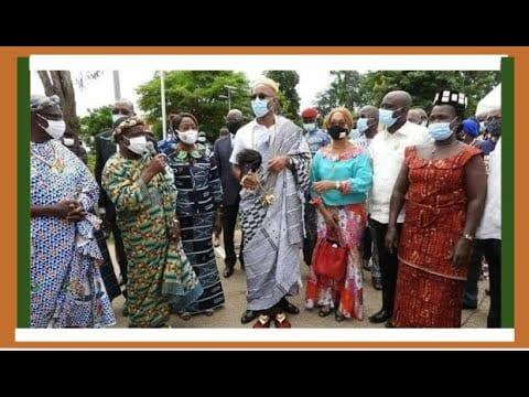 Bouaké : Didier Drogba baptisé Nanan Kwa Dani