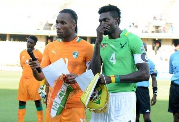 Présidence de la FIF: Emmanuel Adebayor a t-il prophétisé la défaite de Didier Drogba ?
