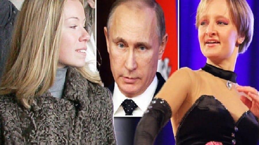 Voici les deux filles cachées de Vladimir Poutine