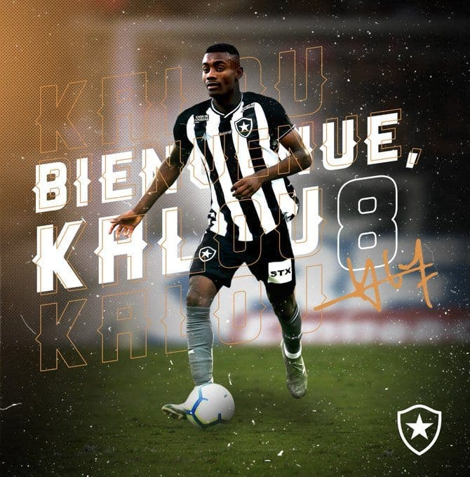 Football : Salomon kalou s'engage avec Botafogo au Brésil