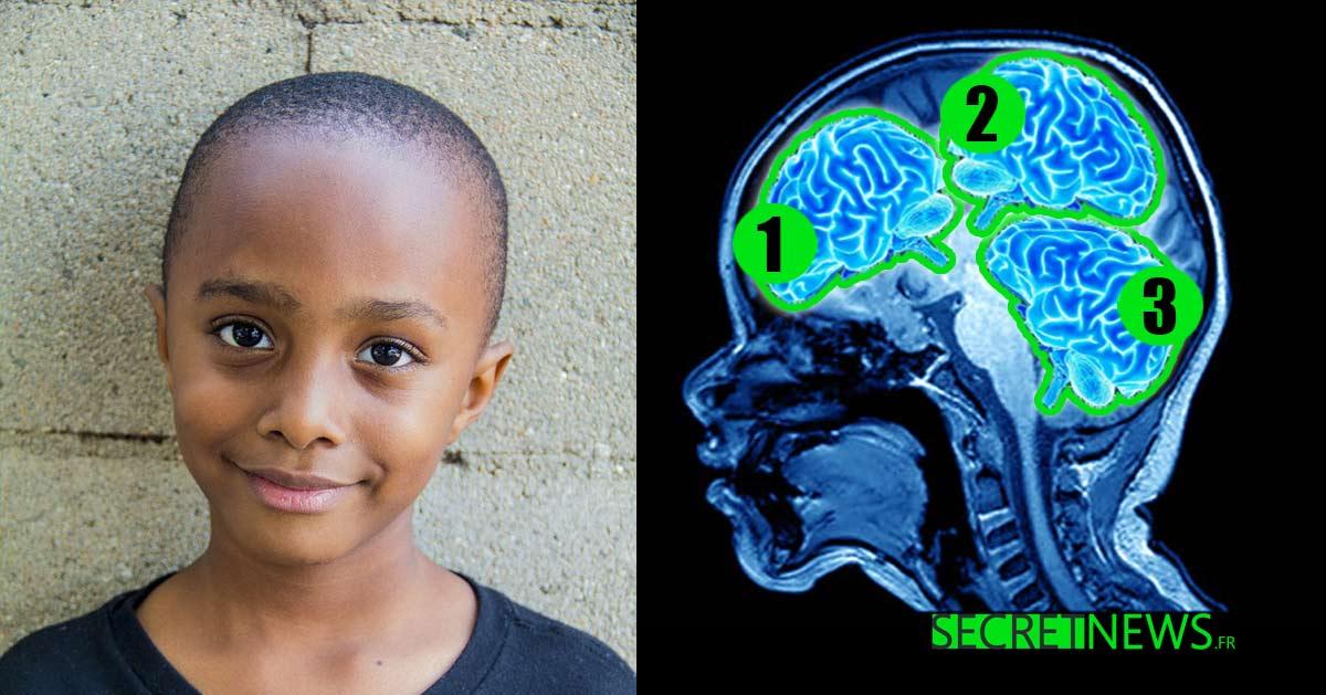 Ce garçon est deux fois plus intelligent que Einstein