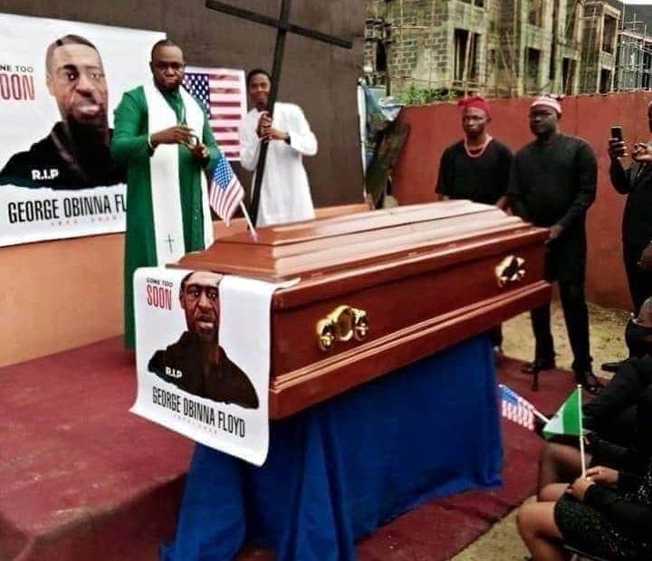George Floyd inhumé une deuxième fois au Nigéria