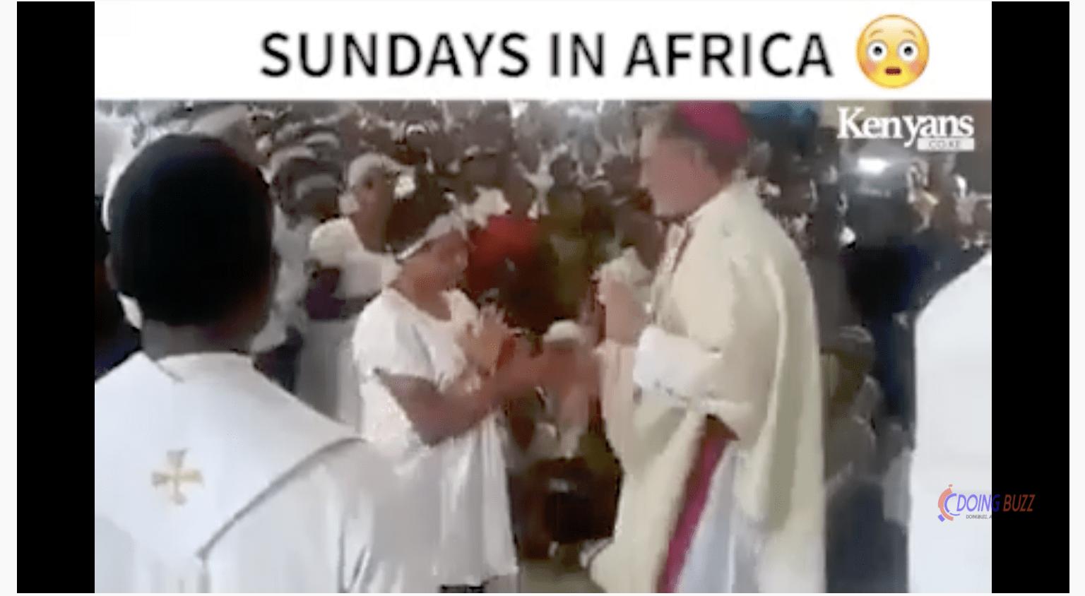 Kenya : un prêtre catholique chicote ses fidèles (video)