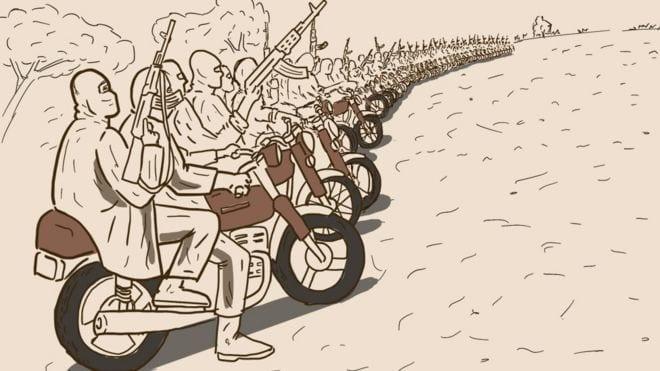 LE NORD DU NIGERIA TERRORISÉ PAR LES BANDITS DE MOTO