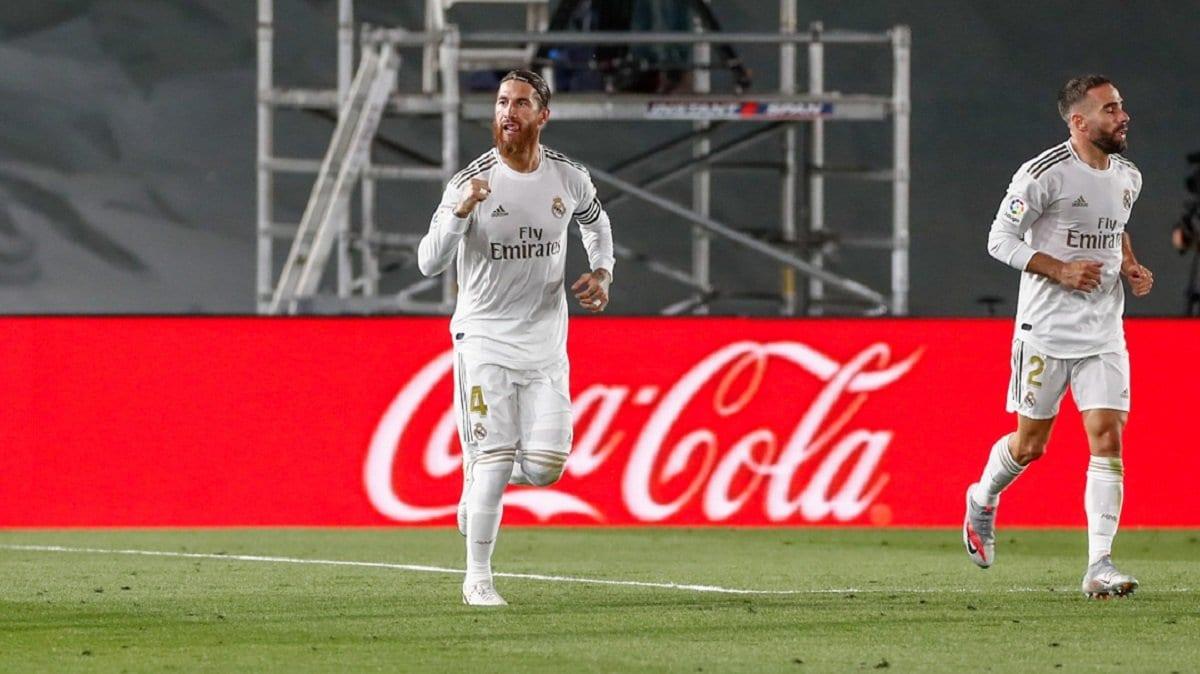 LE REAL MADRID VIENT DIFFICILEMENT À BOUT DE GETAFE ET DISTANCE LE FC BARCELONE