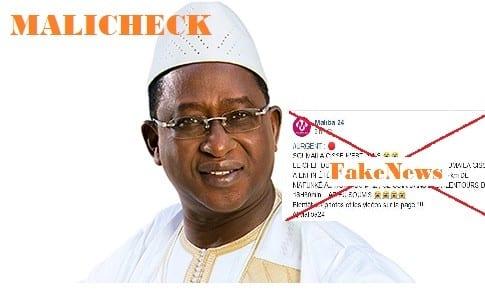 L'opposant malien Soumaïla Cissé n'est pas mort