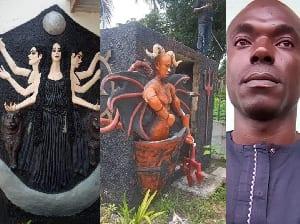 Nigéria : Le fondateur de l'église satanique vient d'être arrêté