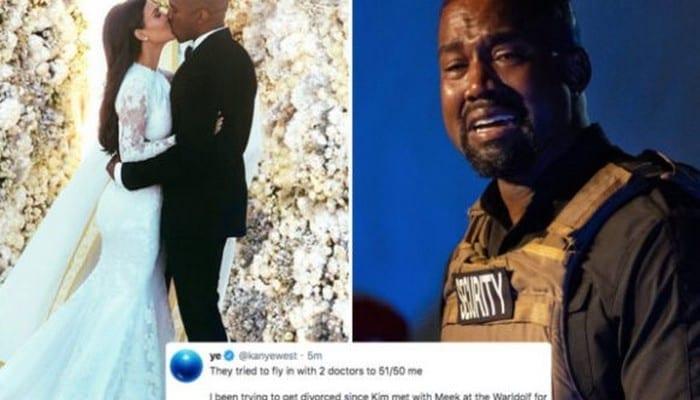People : Kanye West « menace » de révéler les « pires secrets de la famille Kardashian »