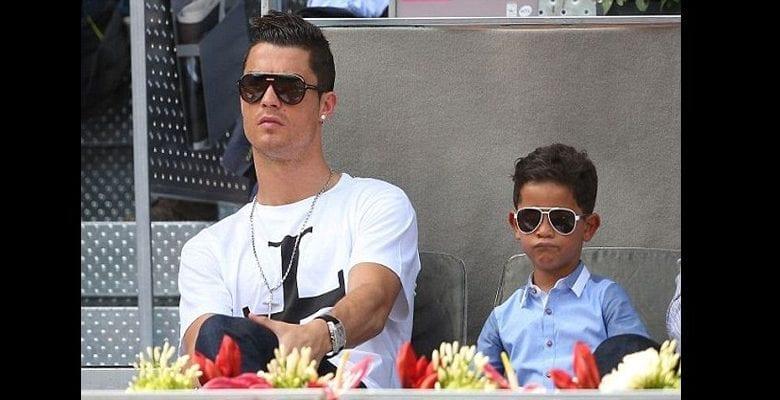 Voici pourquoi Cristiano Ronaldo s'énerve lorsque son fils boit du Coca-cola