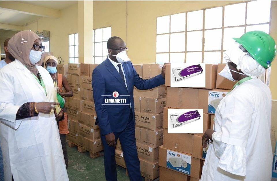 RUPTURE DE PHÉNOBARBITAL AU SENEGAL: LA PNA RECONNAIT LES FAITS