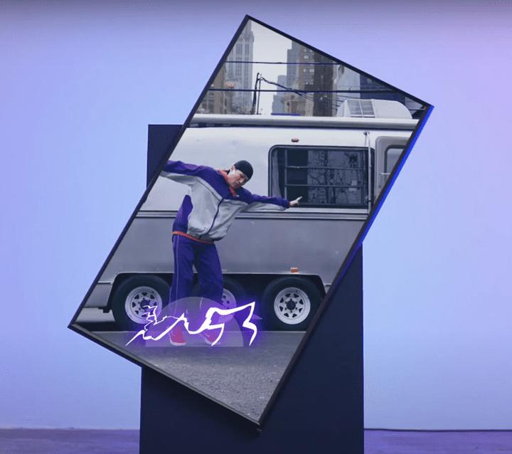 Samsung vient de dévoiler une télévision rotative