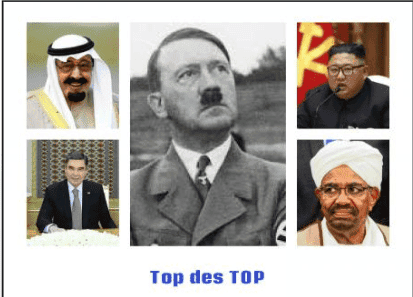 TOP 13 DES PIRES DIRIGEANTS DICTATEURS DU MONDE !