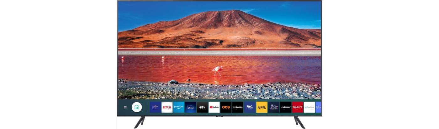 TV SAMSUNG 4K DE 55 POUCES À 499€ AU LIEU DE 799€ 🔥