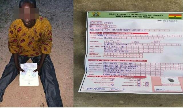 Un Togolais arrêté pour avoir tenté de faire une carte d'électeur au Ghana