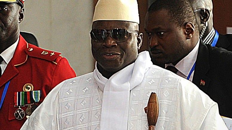 Les USA s'activent à saisir le manoir de Yahya Jammeh, dans le Maryland