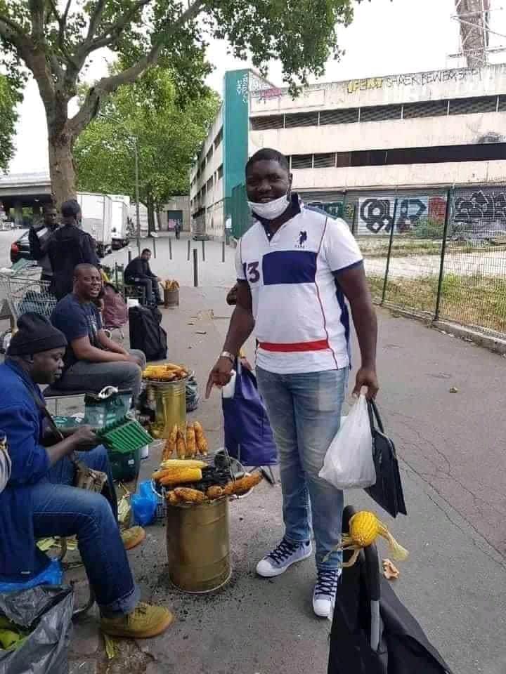 Ces photos d'immigrés africains dans des conditions de vie déplorables font le buzz sur la toile