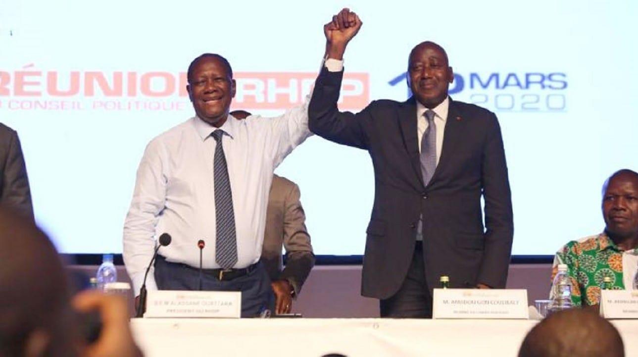 Amadou Gon Coulibaly à Alassane Ouattara: «Je vous aime»