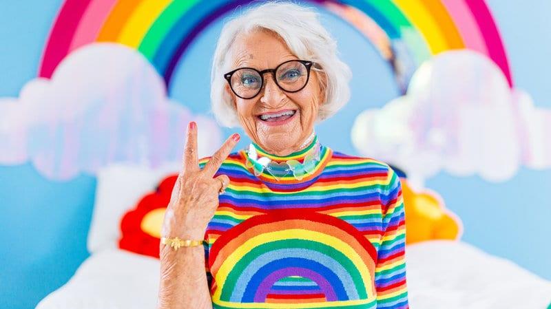 Baddie Winkle, une femme de 92 ans qui a toujours l'air jeune  (Photos)