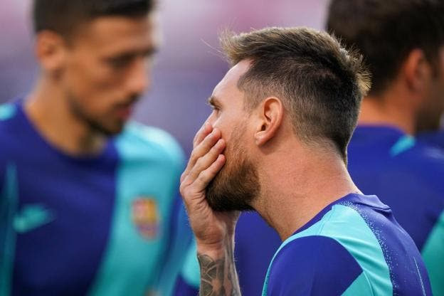 Lionel Messi annonce son départ du Barça