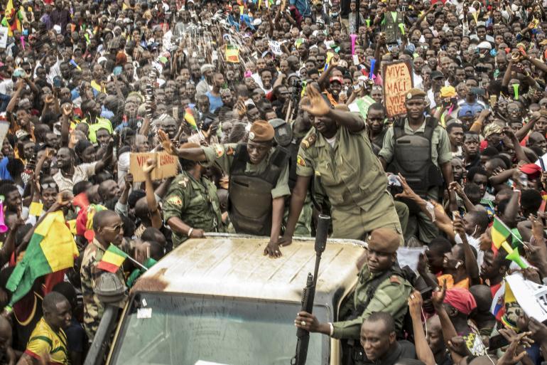 Le peuple malien et les putschistes ont fêté le départ de IBK