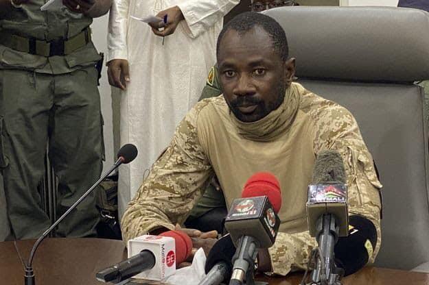 Le colonel Assimi Goita , l'homme fort du Mali